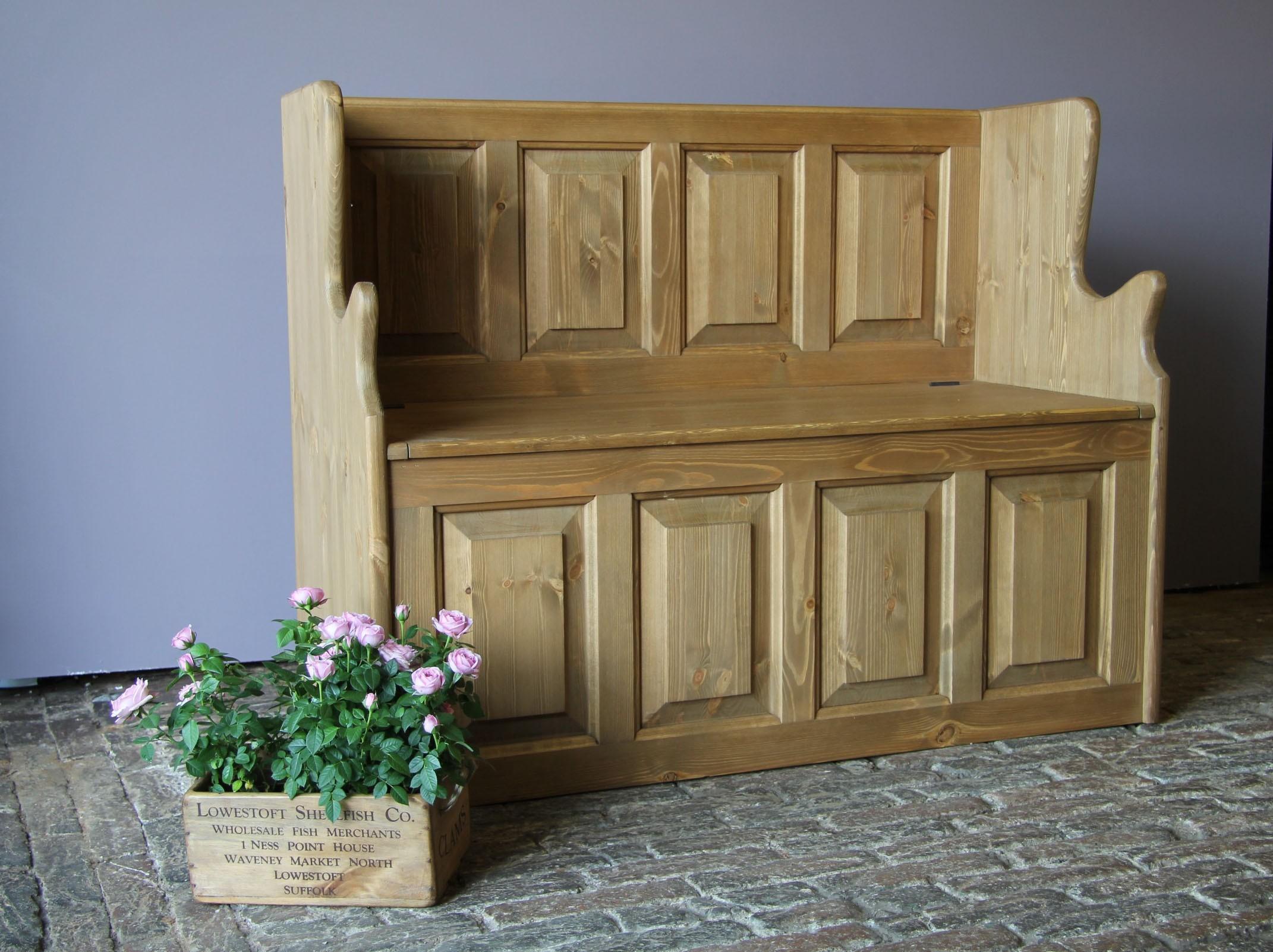 Terrific Custom Design Pine Monks Bench Settle Uwap Interior Chair Design Uwaporg