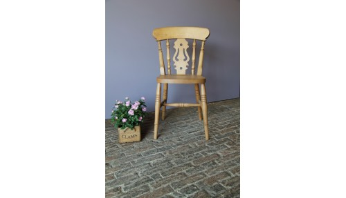 'Fiddle Back' Beech Chair