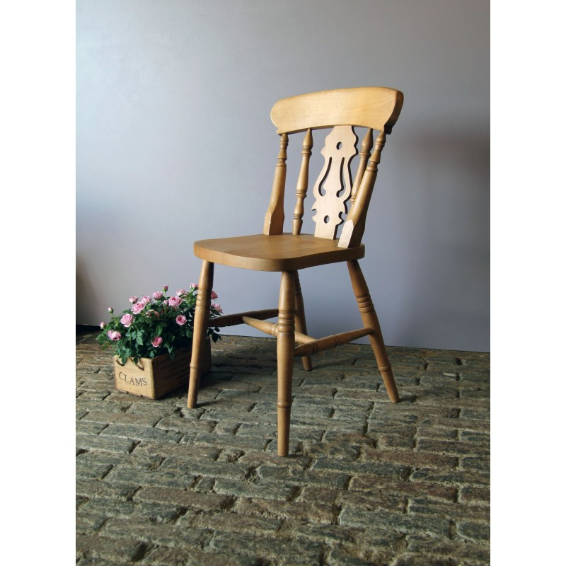 Fiddle Back Beech Chair