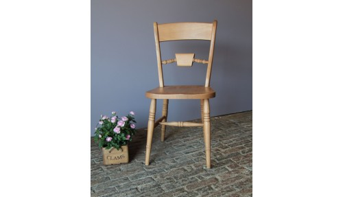 'Bar Back' Beech Chair