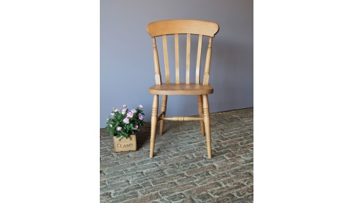 'Slat Back' Beech Chair