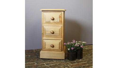 'Mini' Bedside Cabinet - Pine