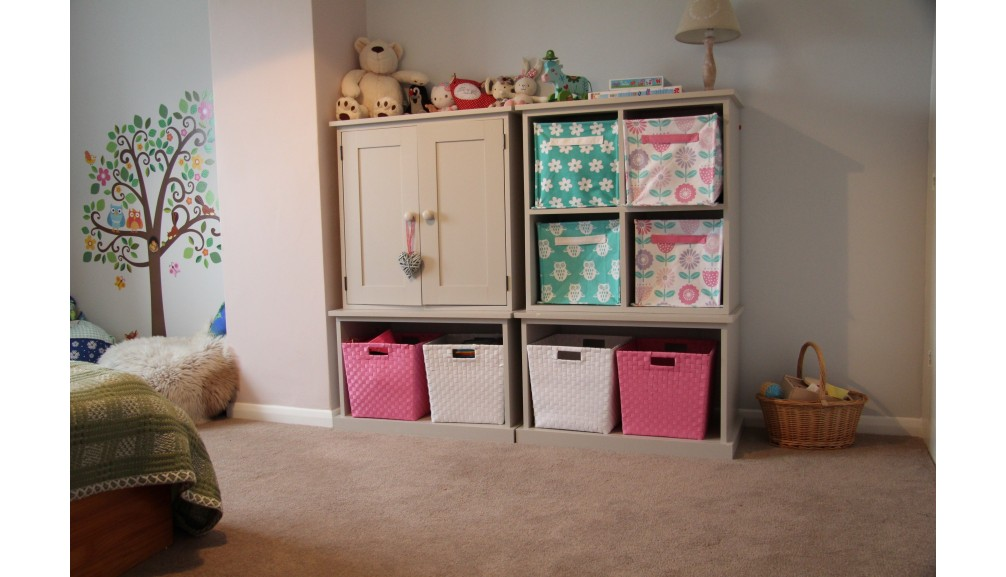 'Custom-Design' Children's Painted Storage Unit