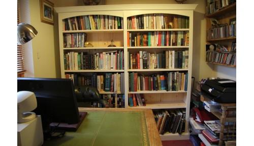 'Custom-Design' Pine Bookcase