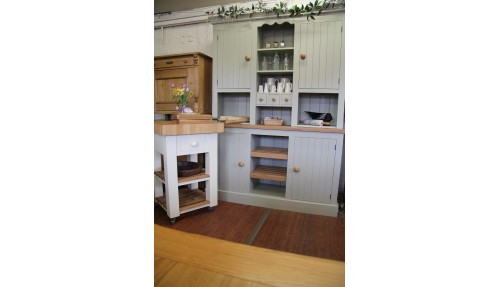 'V' Groove Painted Pine Dresser