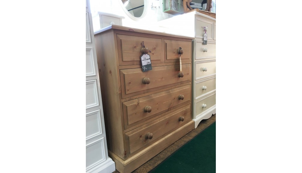'Edwardian' Pine Chest of Drawers