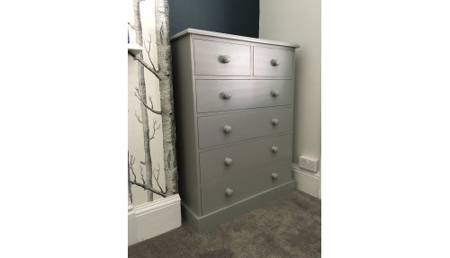 'Custom Design' Shaker Style 2 over 4 Chest of Drawers