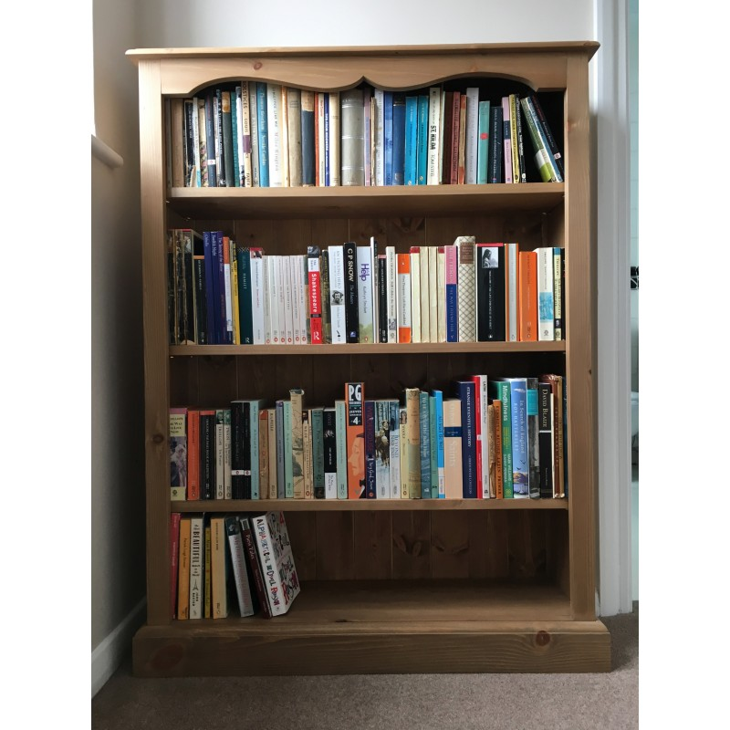 39 custom design 39 country style bookcase for Custom bookcase plans