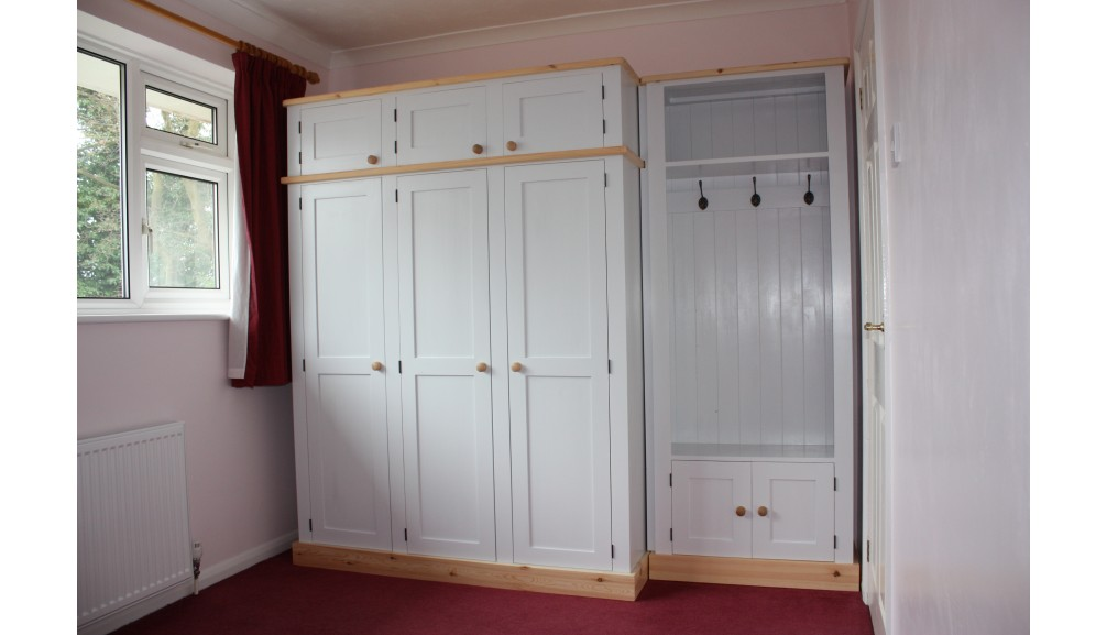 r product double wardrobe home zoom polycotton cream buy to wardrobes web pine and argos click