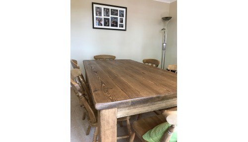 'Ditchling Range' Rustic Dining Table