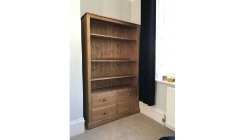 'Custom Design' Bookcase with Drawers