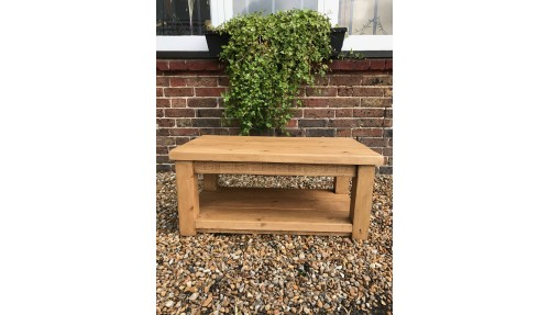'Ditchling Range' Rustic Coffee Table