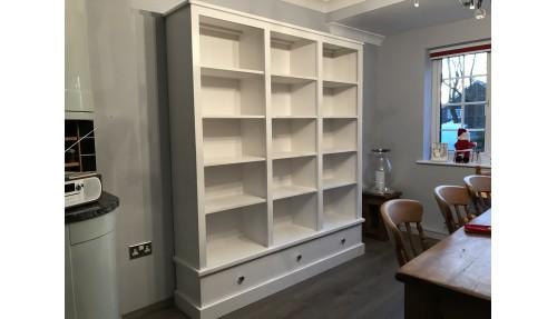 'Custom Design' Bookcase / Storage Unit with drawers