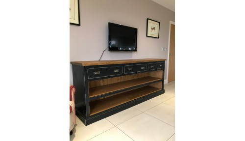 'Custom Design' Shaker Style Open Shelved Sideboard