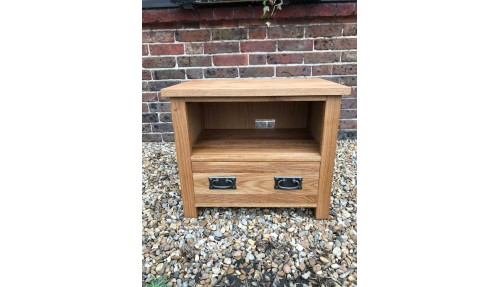 'Custom Design' - Oak TV Unit